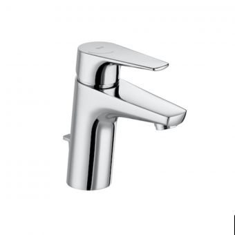 Roca Atlas Basin Mixer Tap with Pop up Waste