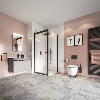 "Crosswater's ""A Feminine Touch"" Ensuite Package"