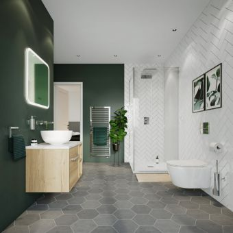 Crosswater Botanical Colour Ensuite Package
