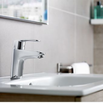 Roca Monodin-N Smooth Body Basin Mixer Tap