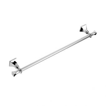 Imperial Highgate Wall Mounted Single Towel Rail 60cm