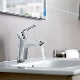 Roca Monodin-N Basin Mixer Tap with Pop up Waste