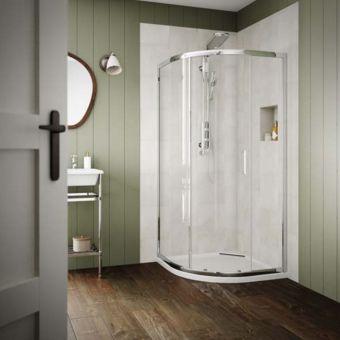 Origins Design Quadrant Shower Package