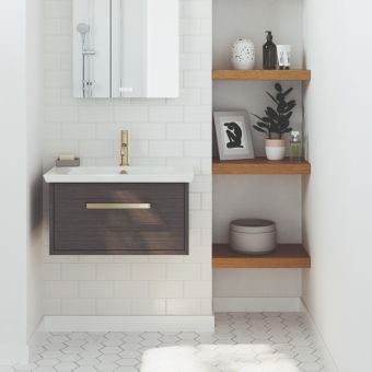 Crosswater Arena 600mm Wall-hung Vanity Unit in Four Colours