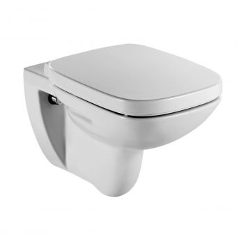 Roca Debba Wall Hung Rimless Square WC and Frame Package