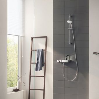 Grohe Grohtherm Thermostatic Shower Mixer with Shower Set