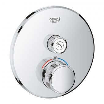 Grohe Grohtherm SmartControl Thermostat with One Outlet