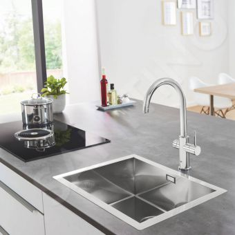 Grohe Blue Home C Spout Filtered Water Mixer Tap - 31455001