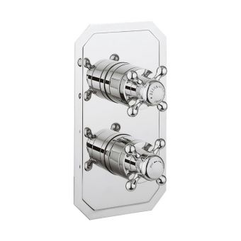 Crosswater Belgravia Single Outlet Thermostatic Shower Valve - BL1000RC-VS+