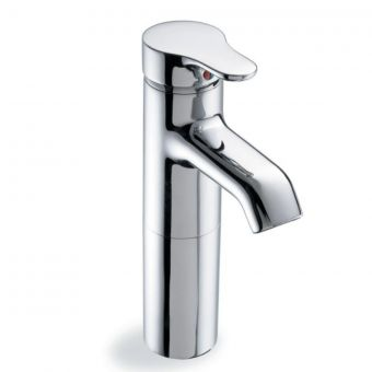 Jasper Morrison 1 Hole Vessel Tall Basin Mixer Tap