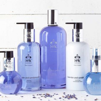 H2K Lavender and Sandalwood Hand Care Gift Set 250ml