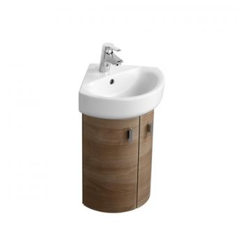 Ideal Standard Concept Space Wall Mounted Corner Basin Unit 2 Doors