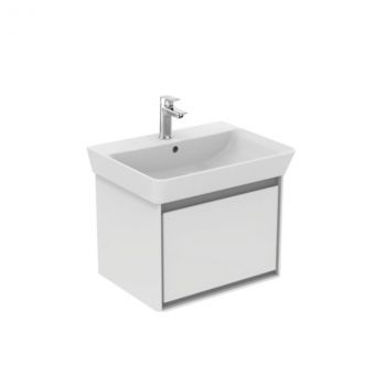 Ideal Standard Concept Air Cube 600mm Washbasin Unit Wall Hung 1 Drawer