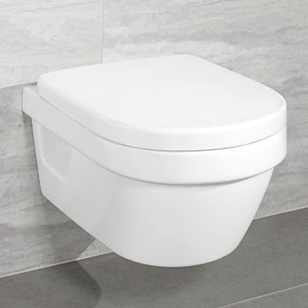 Villeroy and Boch Architectura Wall Mounted Compact Rimless WC Combi Pack