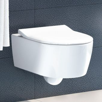 Villeroy and Boch Avento Wall Mounted Rimless WC Combi Pack
