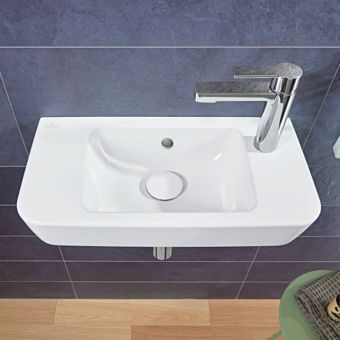 Villeroy and Boch O.Novo Wide Cloakroom Basin - 4342R501