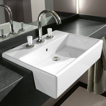 Villeroy and Boch Memento Semi Recessed Basin