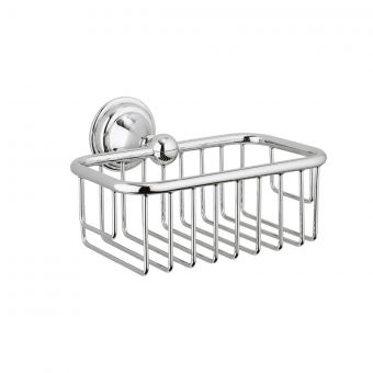 Crosswater Belgravia Soap Basket in Chrome