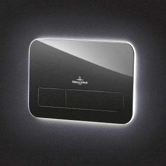 Villeroy and Boch ViConnect L200 LED Glass Flush Plate - 921843RB