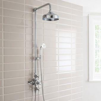 Crosswater Belgravia Thermostatic Shower Kit with Handheld Shower