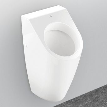 Villeroy and Boch Architectura Wall Hung Siphonic Urinal with ViChange - 55860001