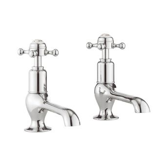 Crosswater Belgravia Crosshead Long Nose Basin Taps