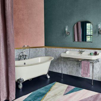 Burlington Medici Batello Ivory White Freestanding Grande Bath - N10CSM