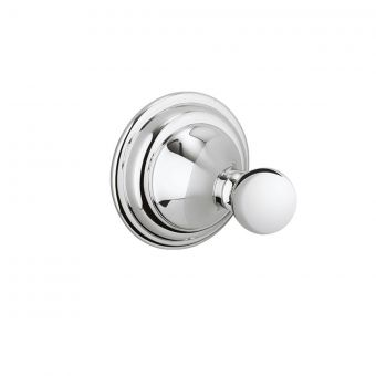 Crosswater Belgravia Single Robe Hook in Chrome
