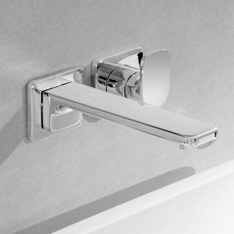 Villeroy and Boch Cult Wall Mounted Basin Mixer Tap - 3686096000