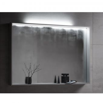Keuco Plan Adjustable Light Mirror with Central Mirror Heater