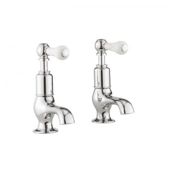 Crosswater Belgravia Lever Cloakroom Basin Taps in Chrome