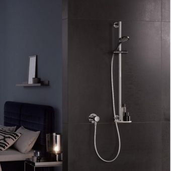 Keuco IXMO Shower Set with Swivelling Shelf