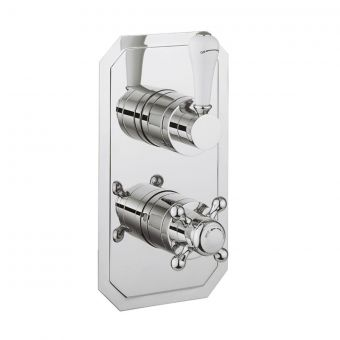 Crosswater Belgravia Lever Single Outlet Thermostatic Shower Valve