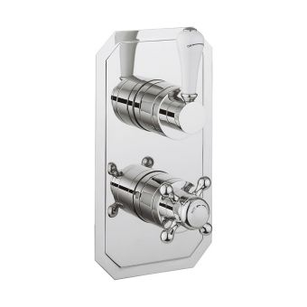 Crosswater Belgravia Lever Thermostatic Shower Valve with 2 Way Diverter - BL1500RC_LV-VS+