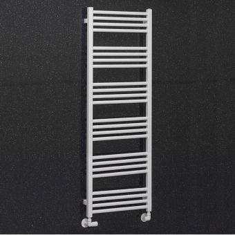 Crosswater MPRO Heated Towel Rail in Matt White