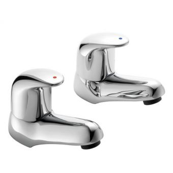 Pegler Haze Bath Pillar Taps