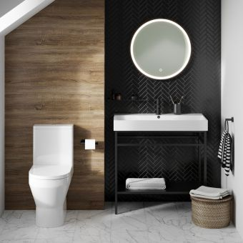 Britton Curve2 Close Coupled Back to Wall Toilet - CUR2.003