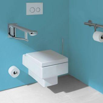 Keuco Plan Care Toilet Paper holder for mounting on grab rail