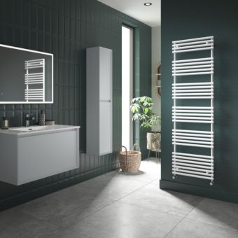 Origins TT Quartz White Designer Towel Radiator