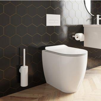 Crosswater MPRO Matt White Bathroom Accessory Pack - PROPACKWHITE