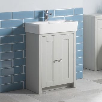 Tavistock Lansdown Medium 2 Door Vanity Unit and Basin