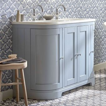 Tavistock Lansdown Large 4 Door Curved Vanity Unit