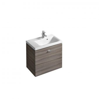 Ideal Standard Concept Space 600mm Basin Unit with 1 Drawer Left Hand - E133801