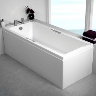 Carron Quantum Integra Single Ended Bath with Twin Grips