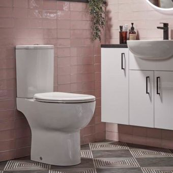 Tavistock Loft Close Coupled WC (Open Back)