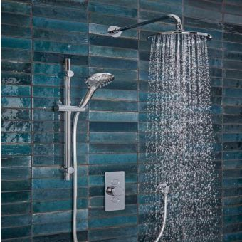 Tavistock Axiom Concealed Shower Set with Slide Rail