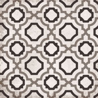 Origins Vintage Geometric Tile 22.3 x 22.3cm - SLT151
