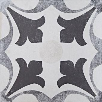 Origins Vintage Lily Tile 22.3 x 22.3cm - SLT174