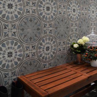 Origins Vintage Starburst Tile 22.3 x 22.3cm - SLT154