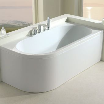 Carron Status Offset Corner Shower Bath